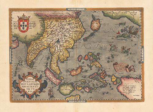 1572 Indiae Orientalis Insularumque Adiacientium Typus
