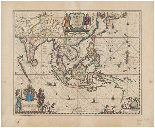 1630 Indiae Orientalis Nova Descriptio