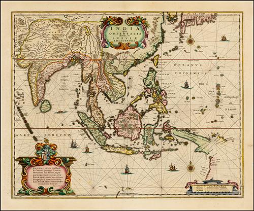1635 Asia Noviter Delineata