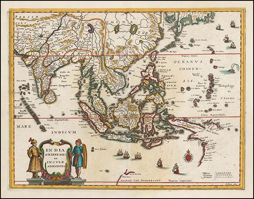 1636 India quae Orientalis dicitur et Insulae Adiacentes