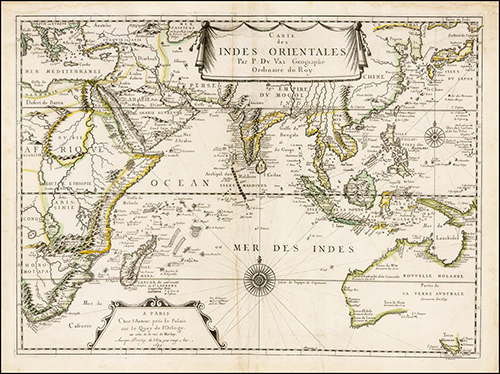 1670 Indiae Orientalis nec non Insularum Adiacentium Nova Descriptio