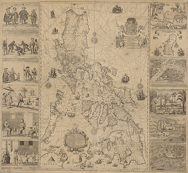 1734 Murillo Velarde Map