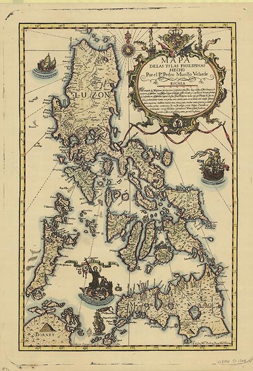1744 Carta Hydrographica y Chorographica de las Yslas Filipinas