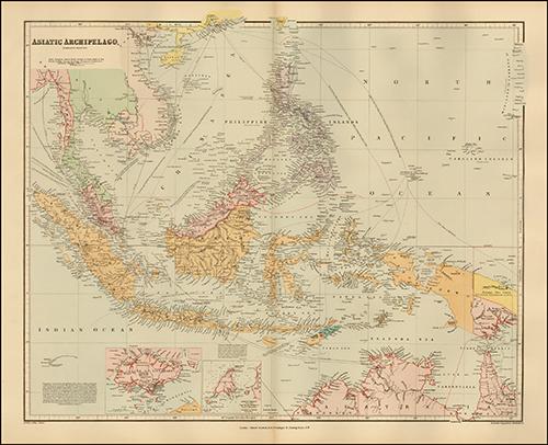 1896 Asiatic Archipelago (Philippines, etc)
