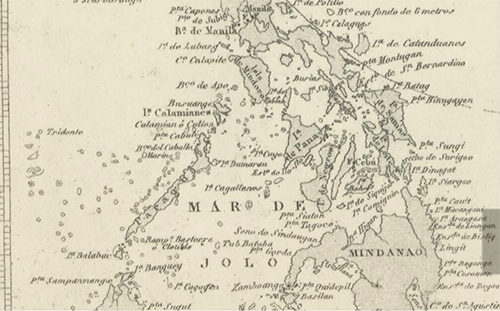 1897 Hidographia Carta General del Oceano